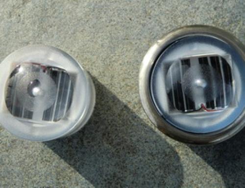 Balise de sol à led solaire BRIGEL